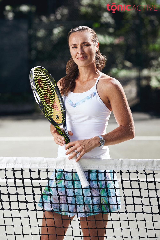 Tonic Active Tennis by Martina Hingis SS17 Campaign – Benck s