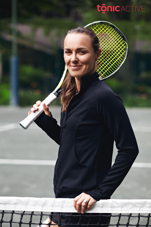 Black Tennis Fashion Photography